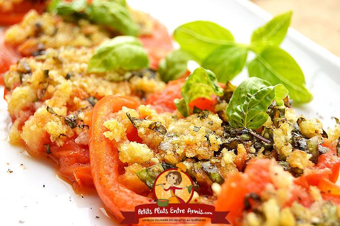 Tomates la proven ale cuisson plancha petits plats - Repas plancha entre amis ...