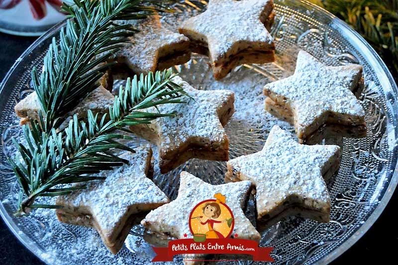 Recette de Sablés de Noël aux noisettes