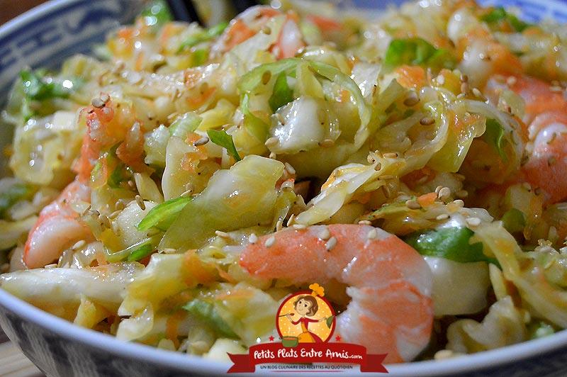 Salade japonaise sengiri