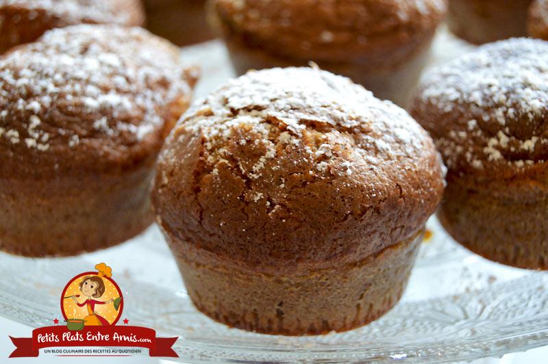 Recette de muffins pralinés