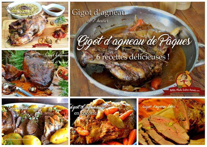 Gigot d'agneau de Pâques 6 recettes