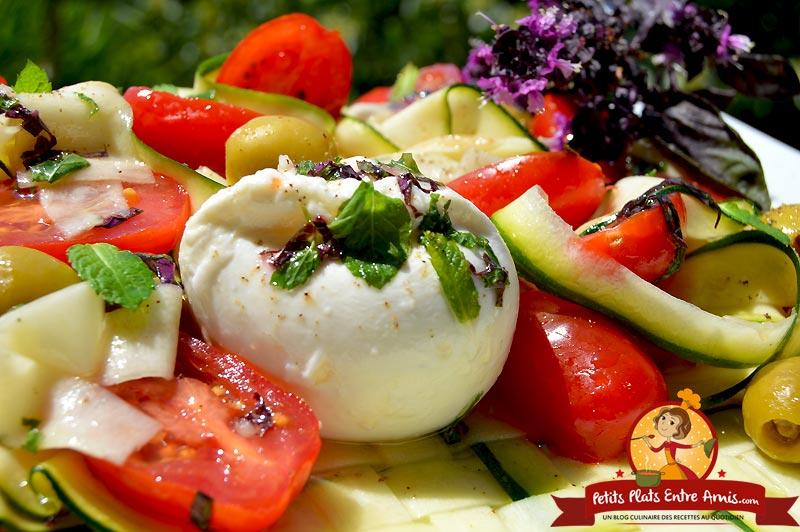 Recette de salade d'été