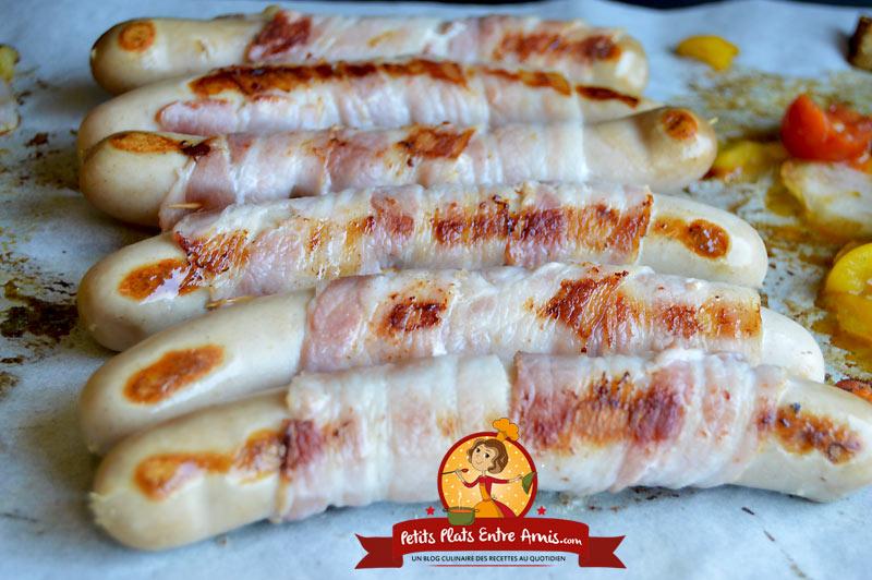 Recette de saucisses blanches à la plancha