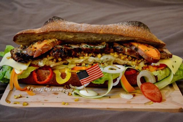 Black Friday sandwich