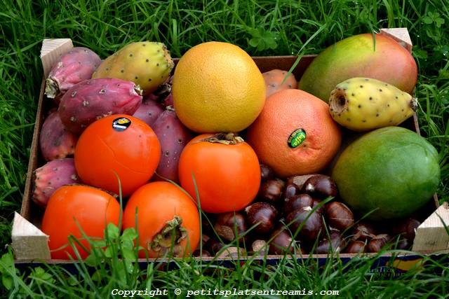 Fruits du marché