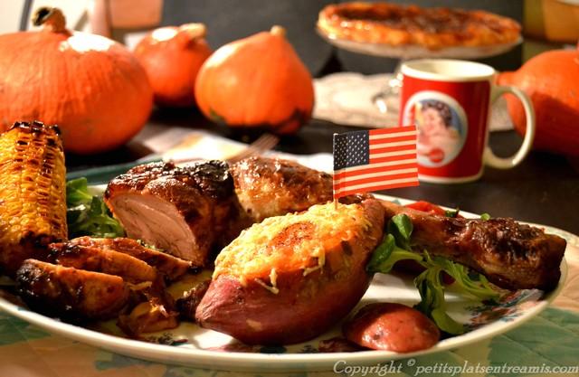 Plat de thanksgiving