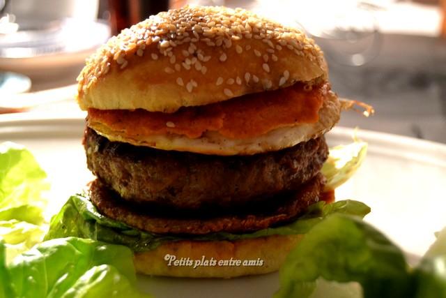 Sunday burger