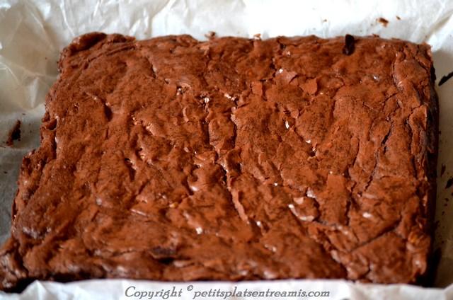 brownies sortie du four