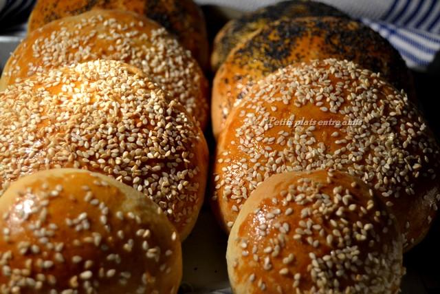 pains à burgers