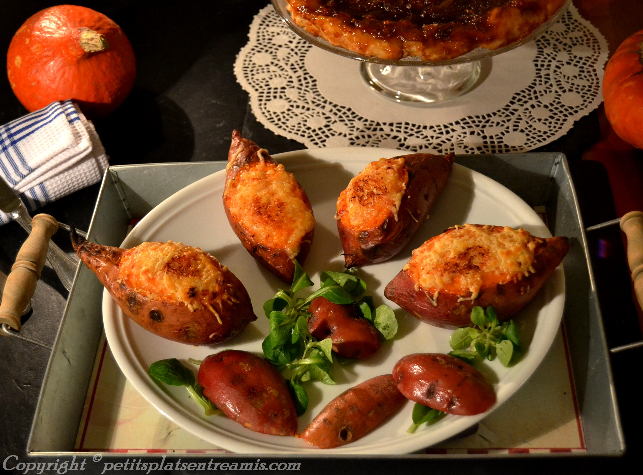 présentation patates douces