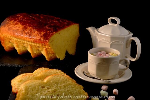 brioche au beurre et cacao chaud