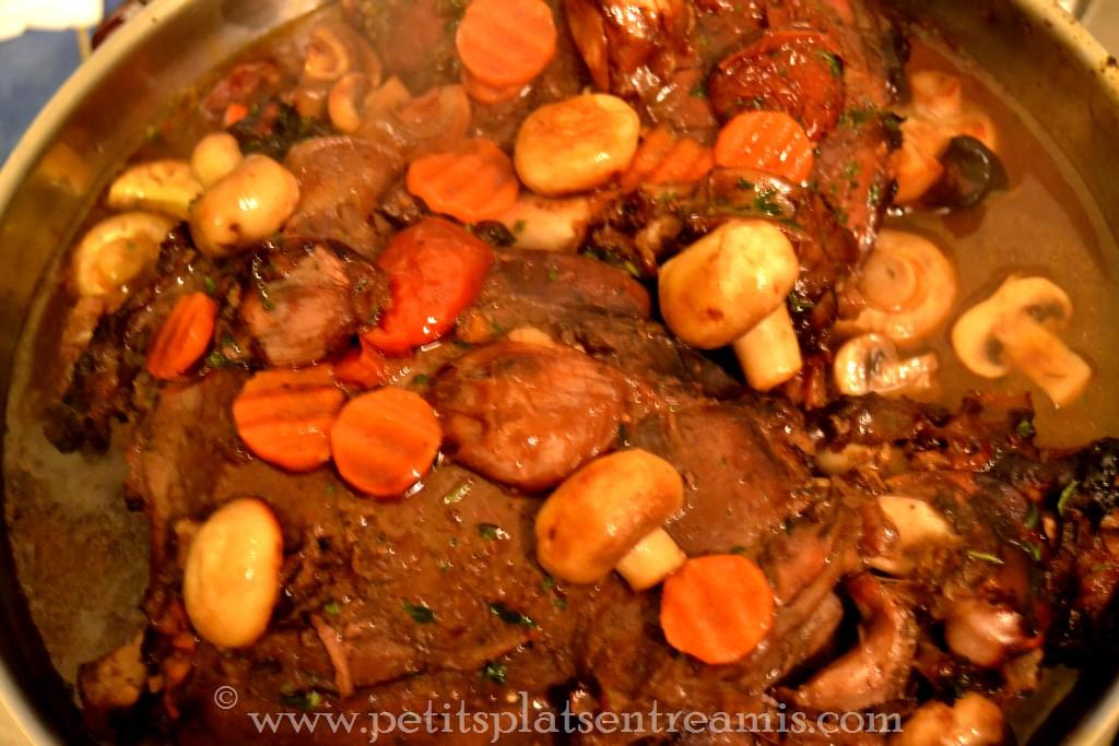 cuisson cuissot de chevreuil
