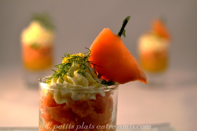 verrine de saumon 1