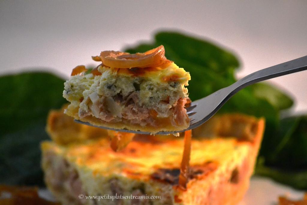 bouchée de tarte au thon