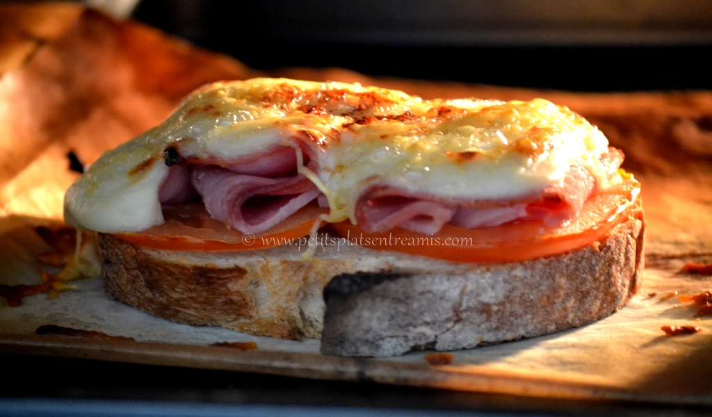croque-monsieur au four