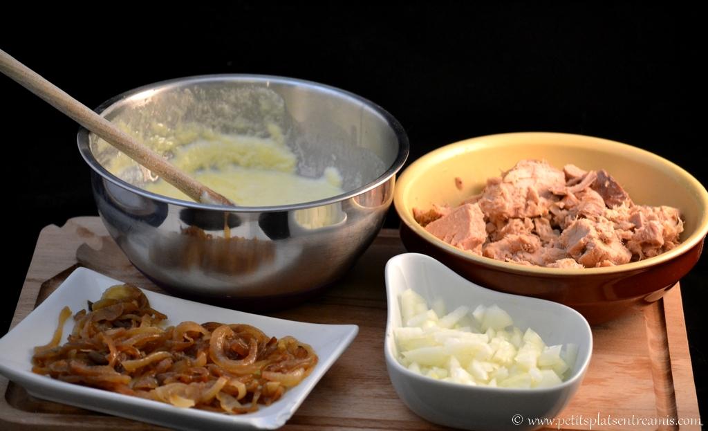 ingrédients tarte au thon