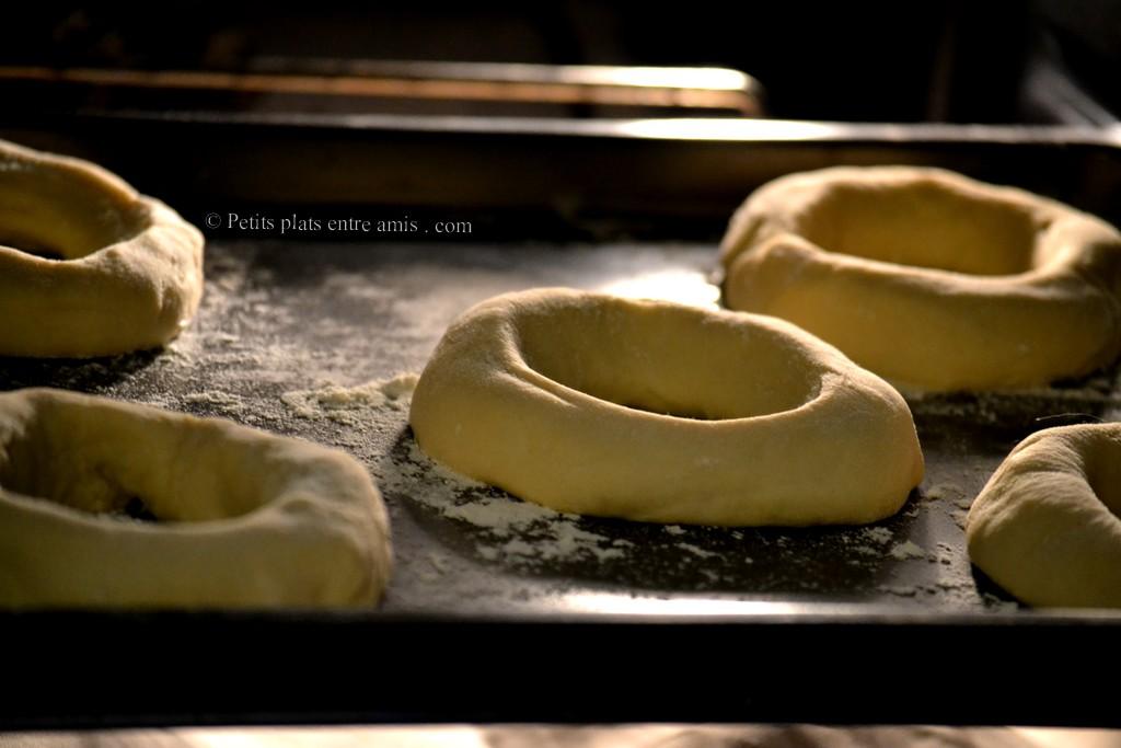 poussée des bagels