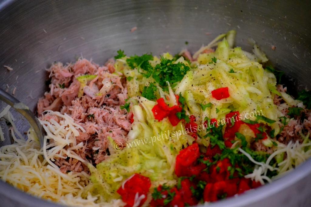 préparation croquettes de thon