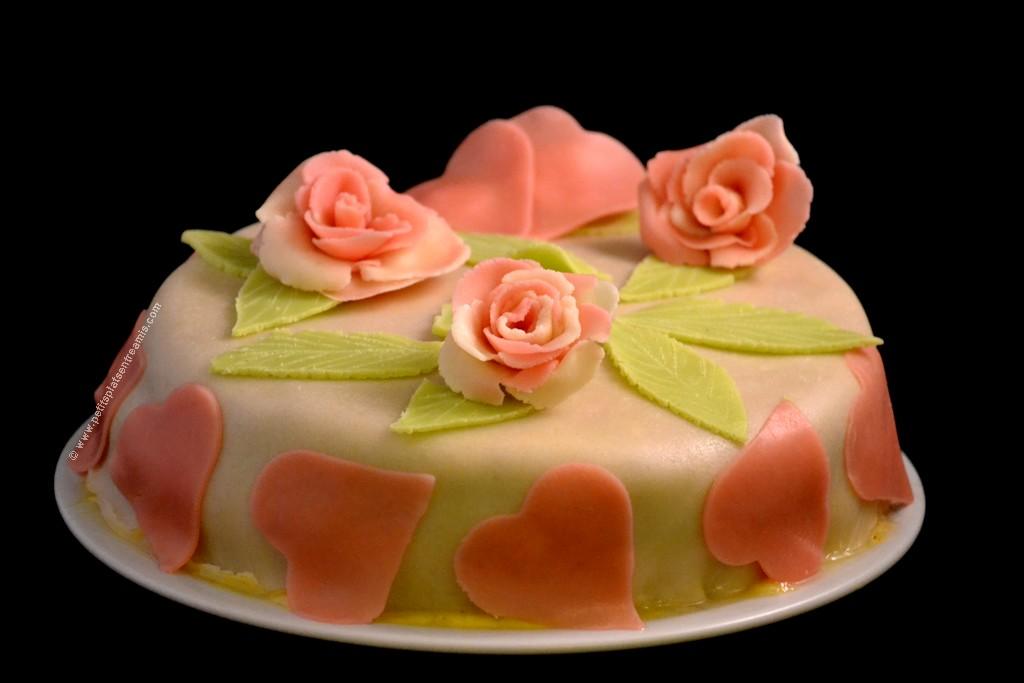 gâteau de Saint-Valentin