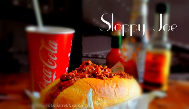 Recette du Sloppy Joe