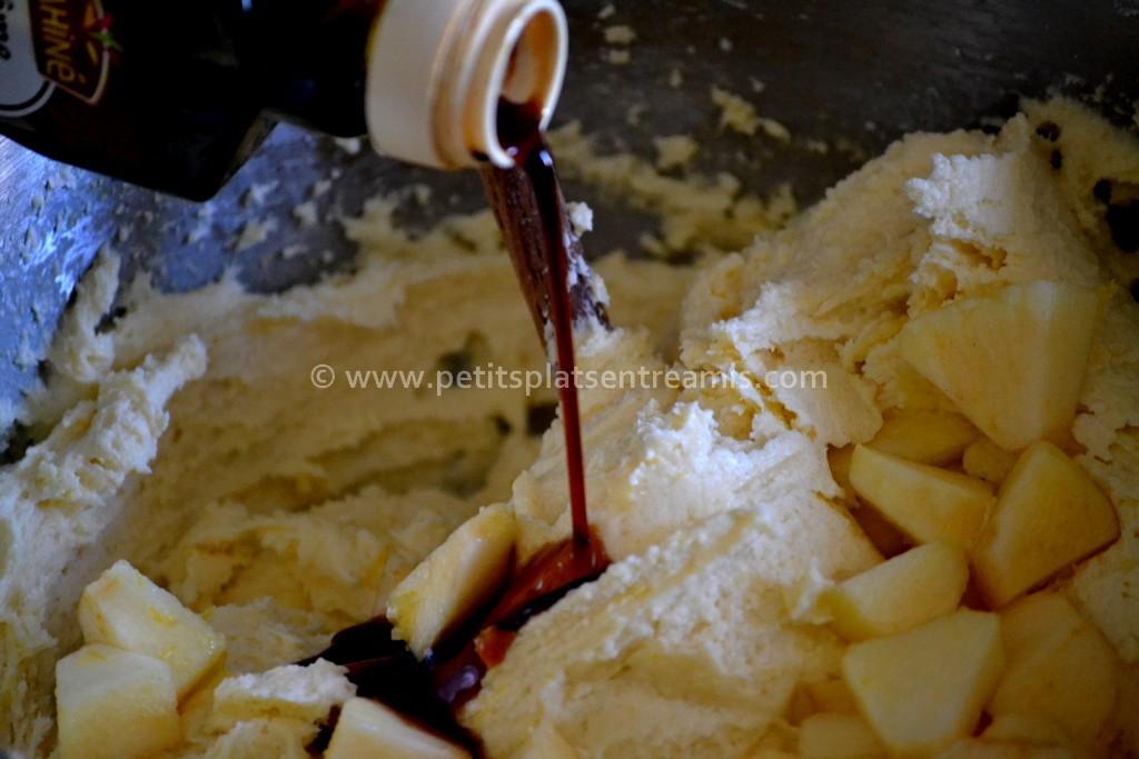 arôme vanille sur pâte