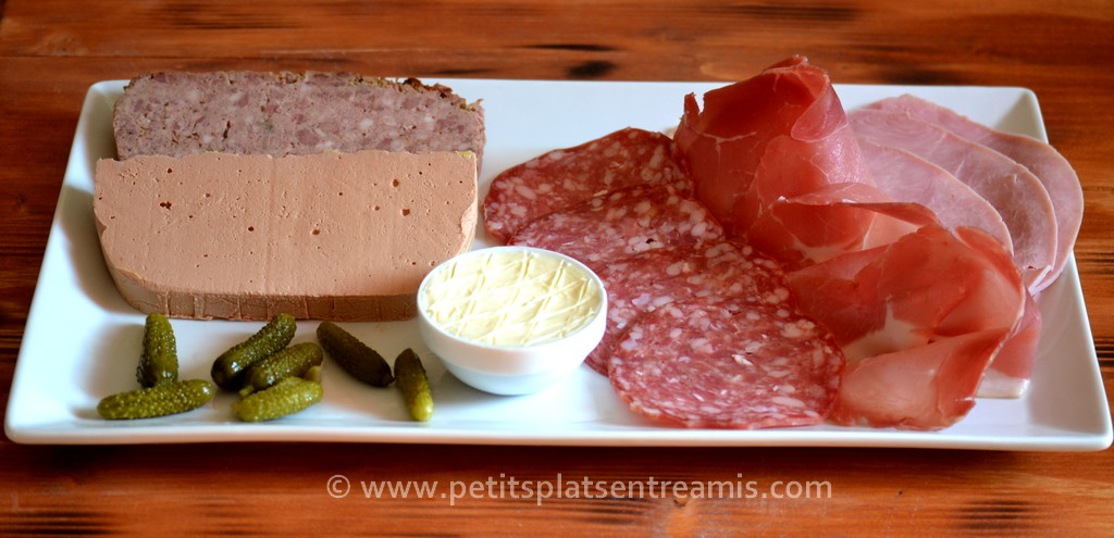 charcuterie pour pain surprise