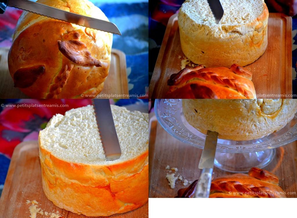 découpage pain surprise