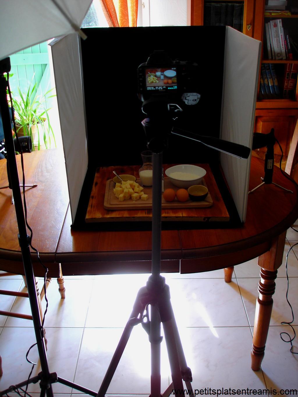 préparation photos culinaires