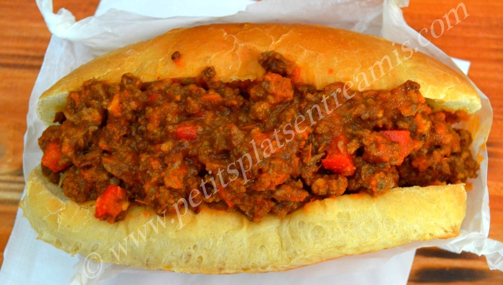 remplissage Sloppy Joe