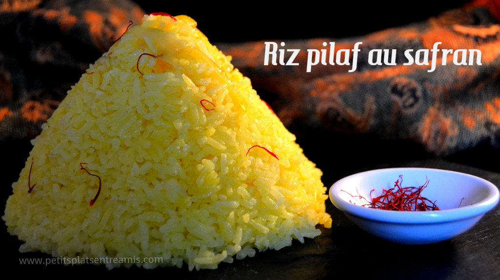 riz pilaf au safran