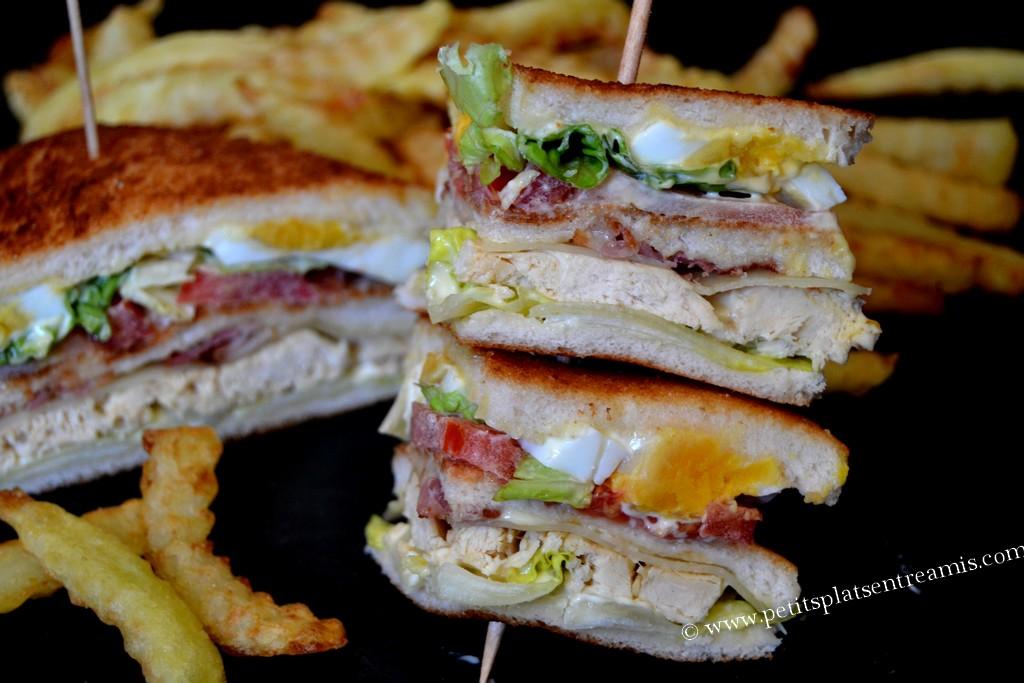 club sandwich sur pique