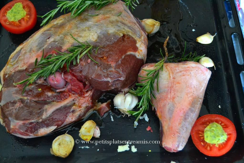 gigot d'agneau prêt à cuire