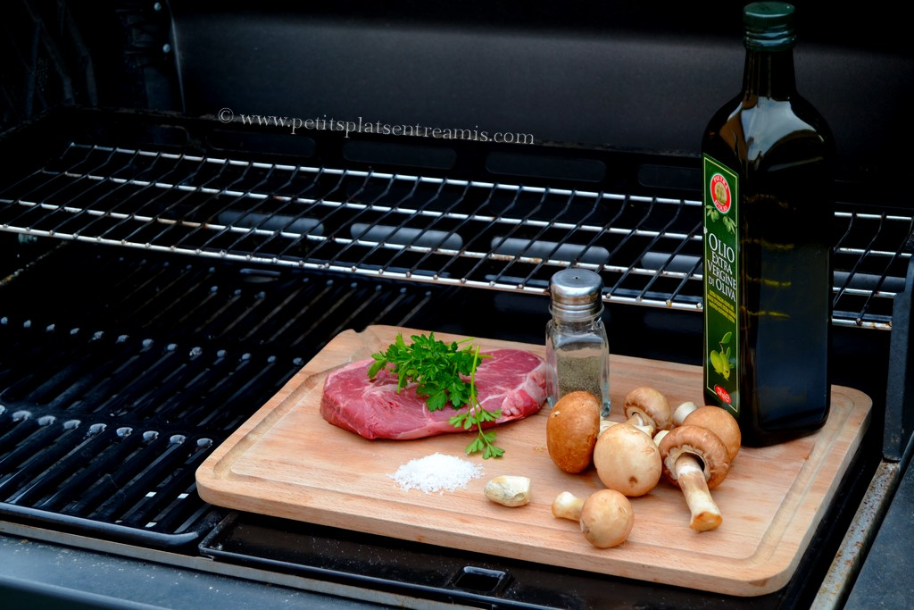 ingrédients pour paleron au barbecue