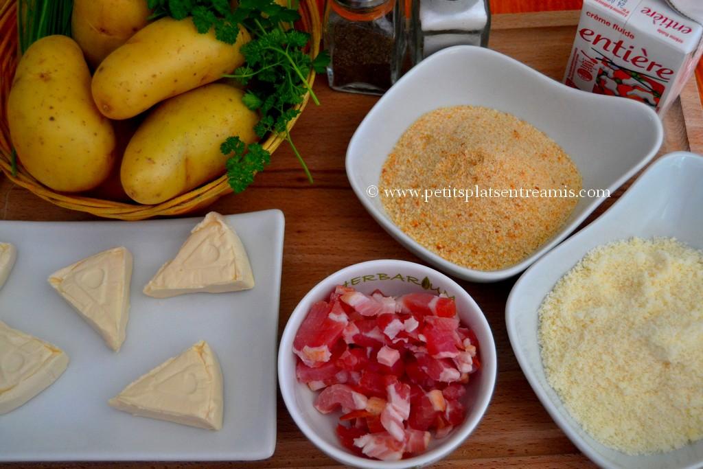 ingrédients pour pommes de terre suédoises