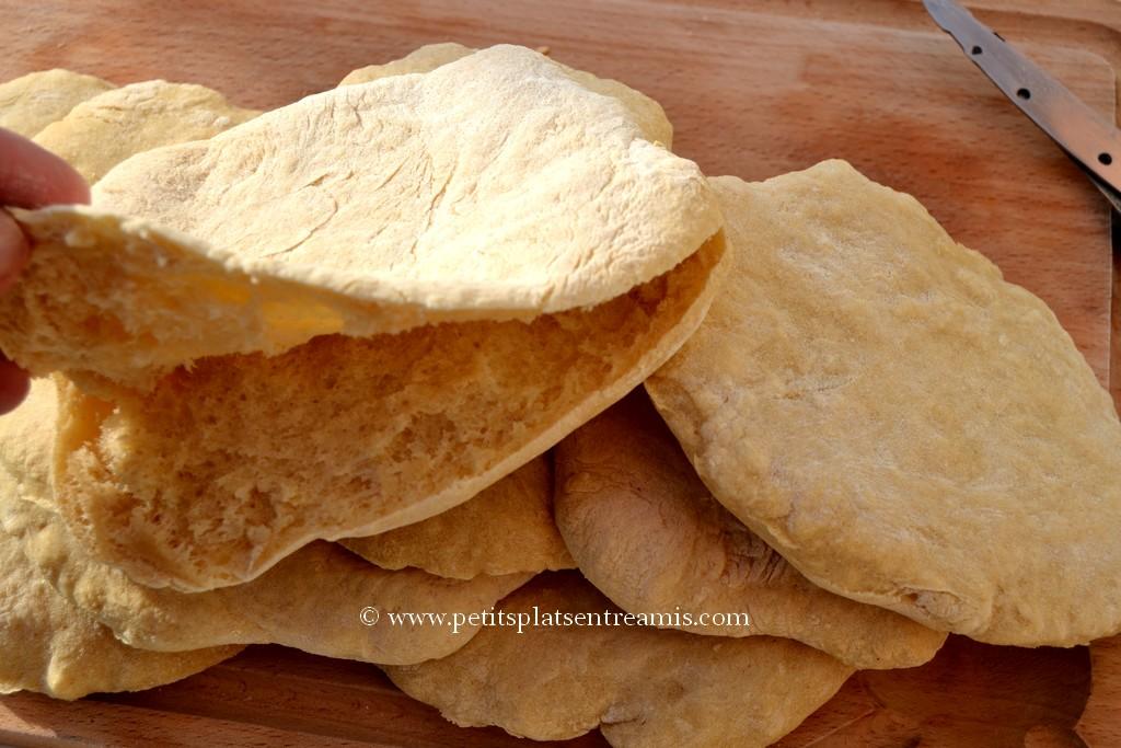 pain pita ouvert