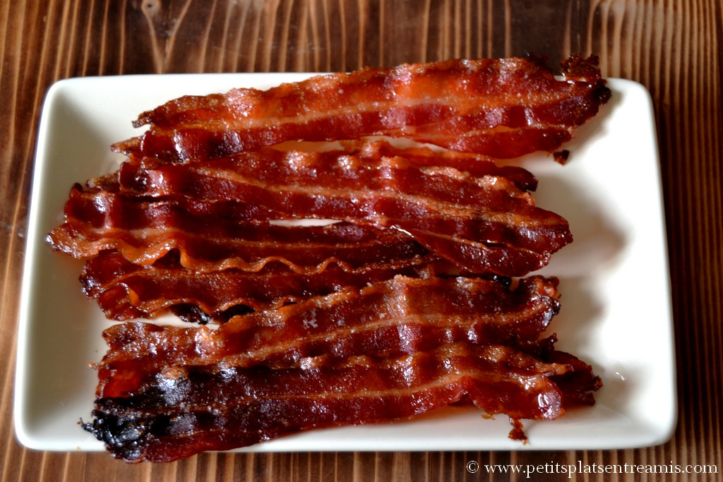 bacon caramélisé