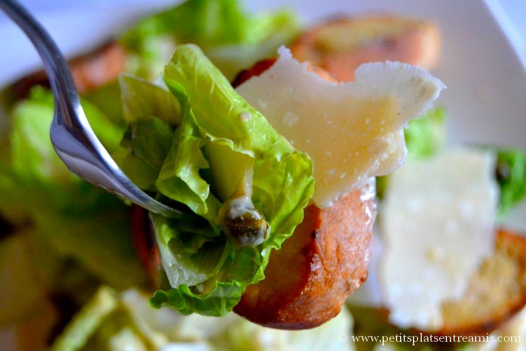bouchée de salade cesar
