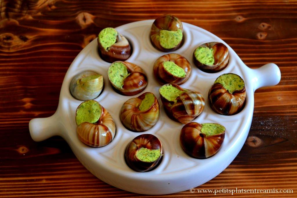 escargot prêts à cuire