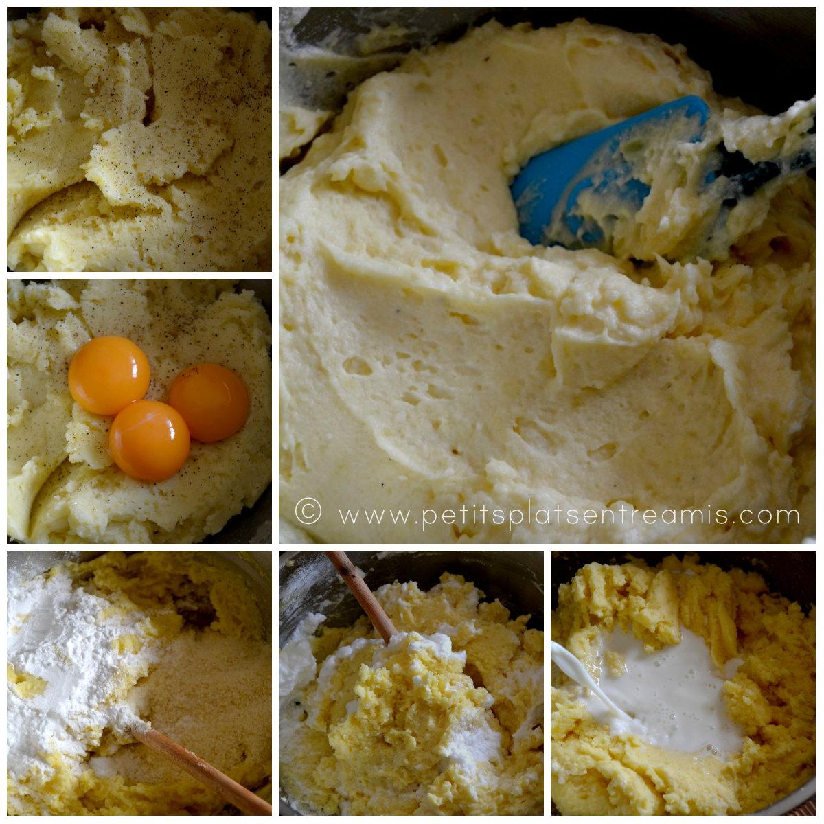 préparation pancakes pommes de terre
