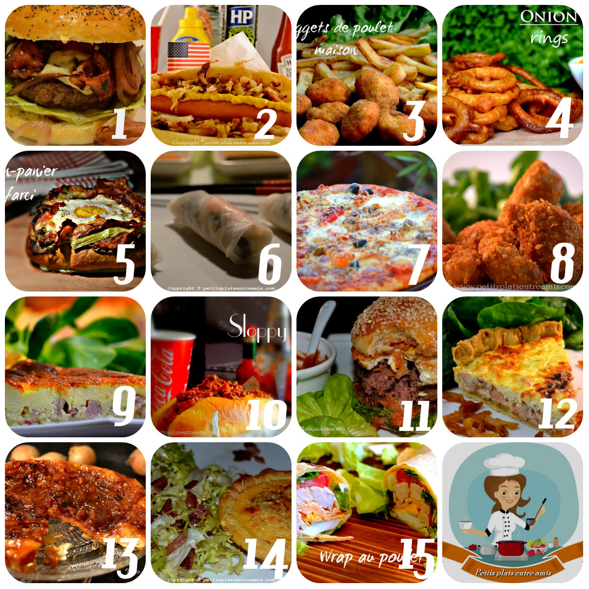 Top 15 des recettes pour une soirée télé