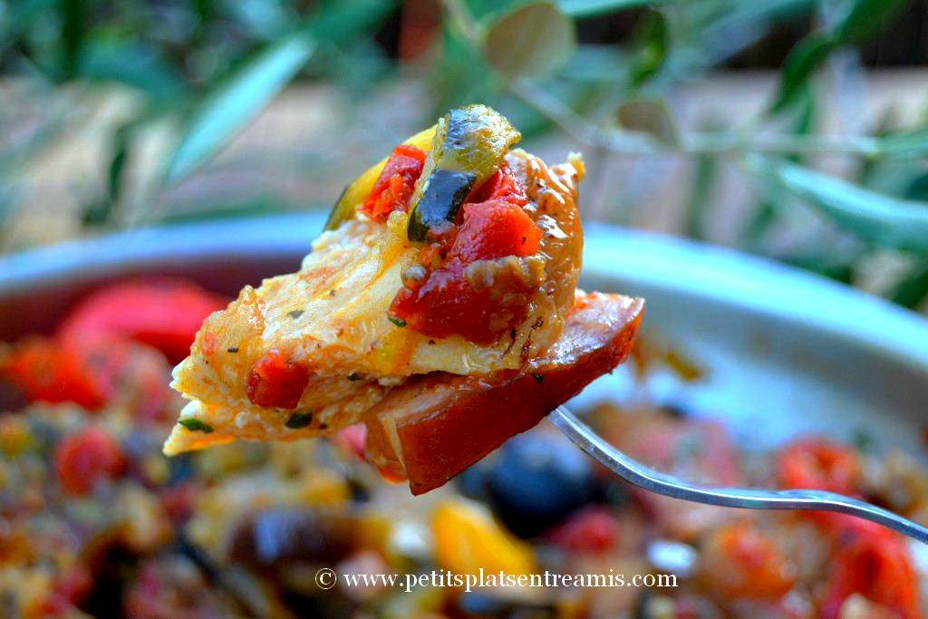 bouchée de poulet à la provençale