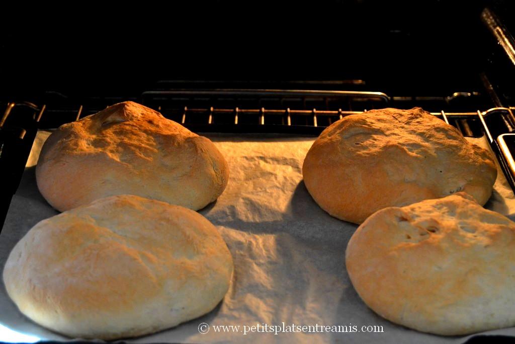 cuisson pains à sandwichs