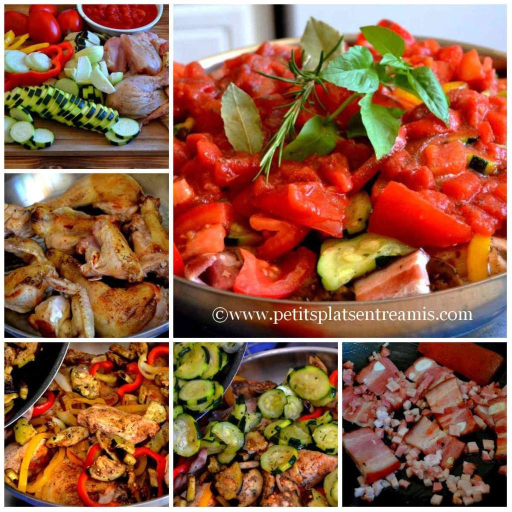 cuisson poulet à la provençale