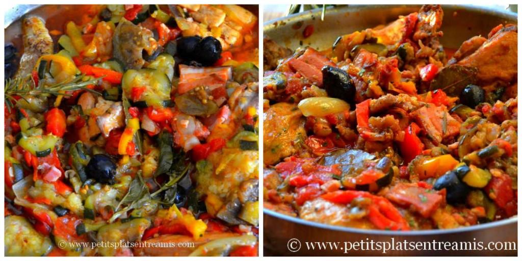 réduction sauce poulet à la provençale
