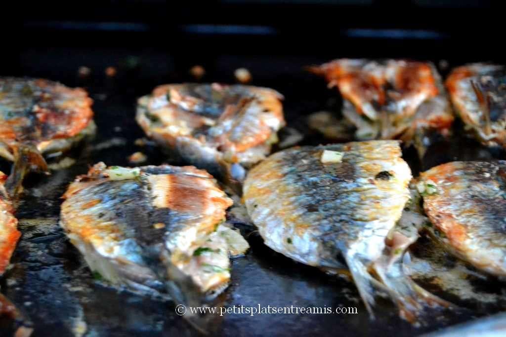 sardines farcies à la plancha