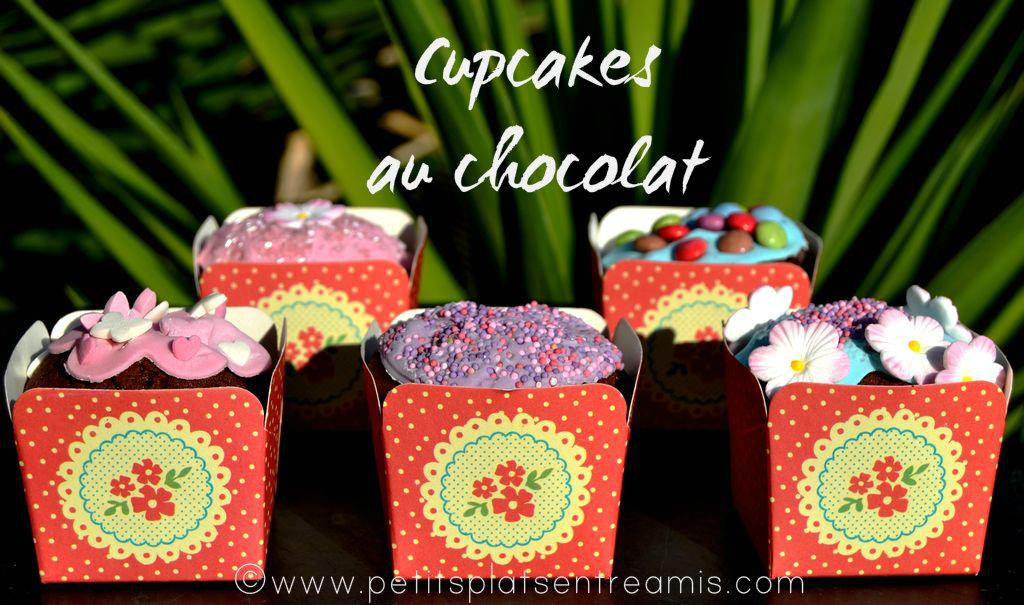 Cupcakes au chocolat