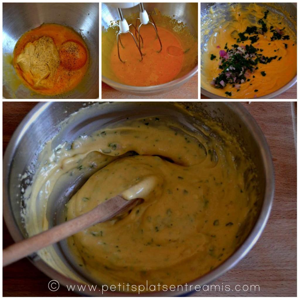 préparation sauce rémoulade