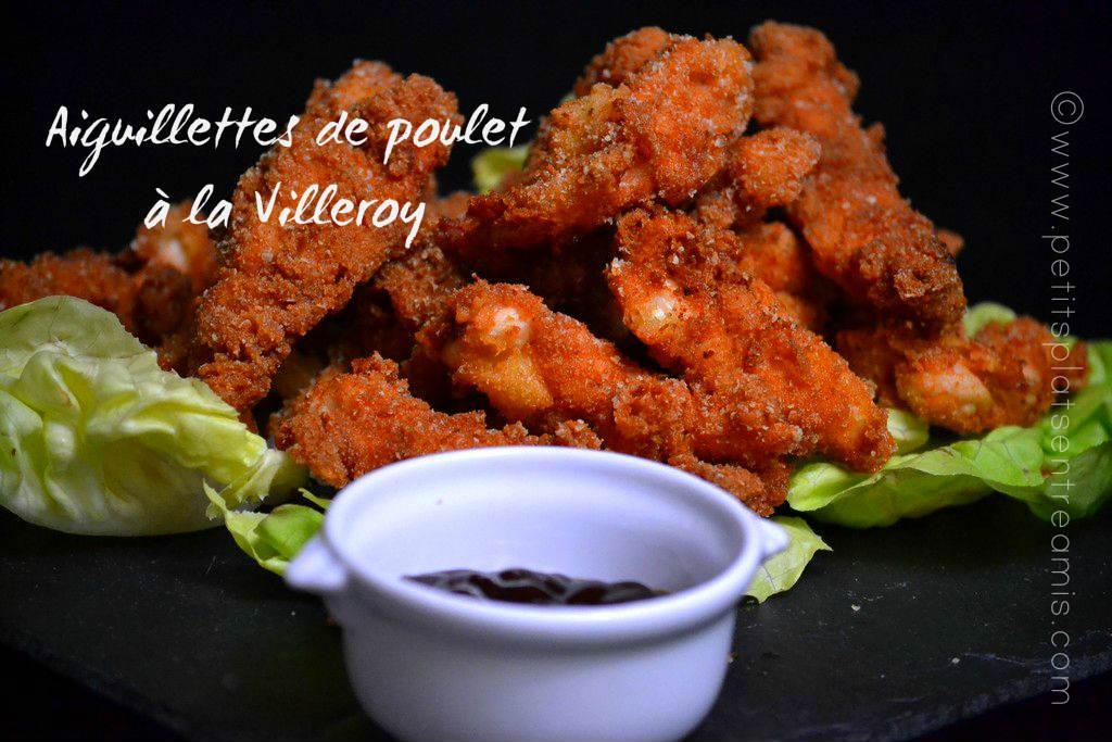 Aiguillettes de poulet à la Villeroy