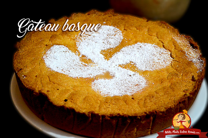 Recette du gâteau basque