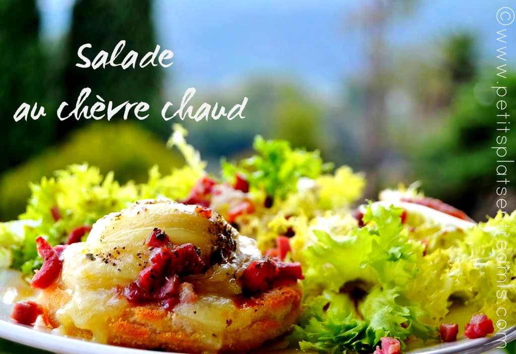 Salade au chèvre chaud (2)